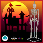 Halloween 2020: Mini skeleton with Joints on Amazon & Ebay!