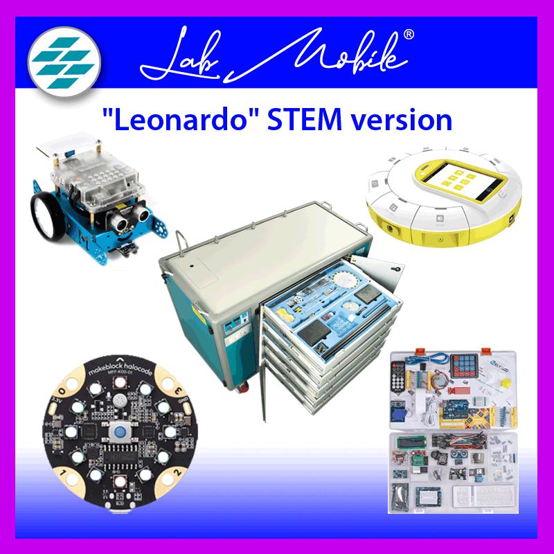 Lab Mobile Leonardo STEM version